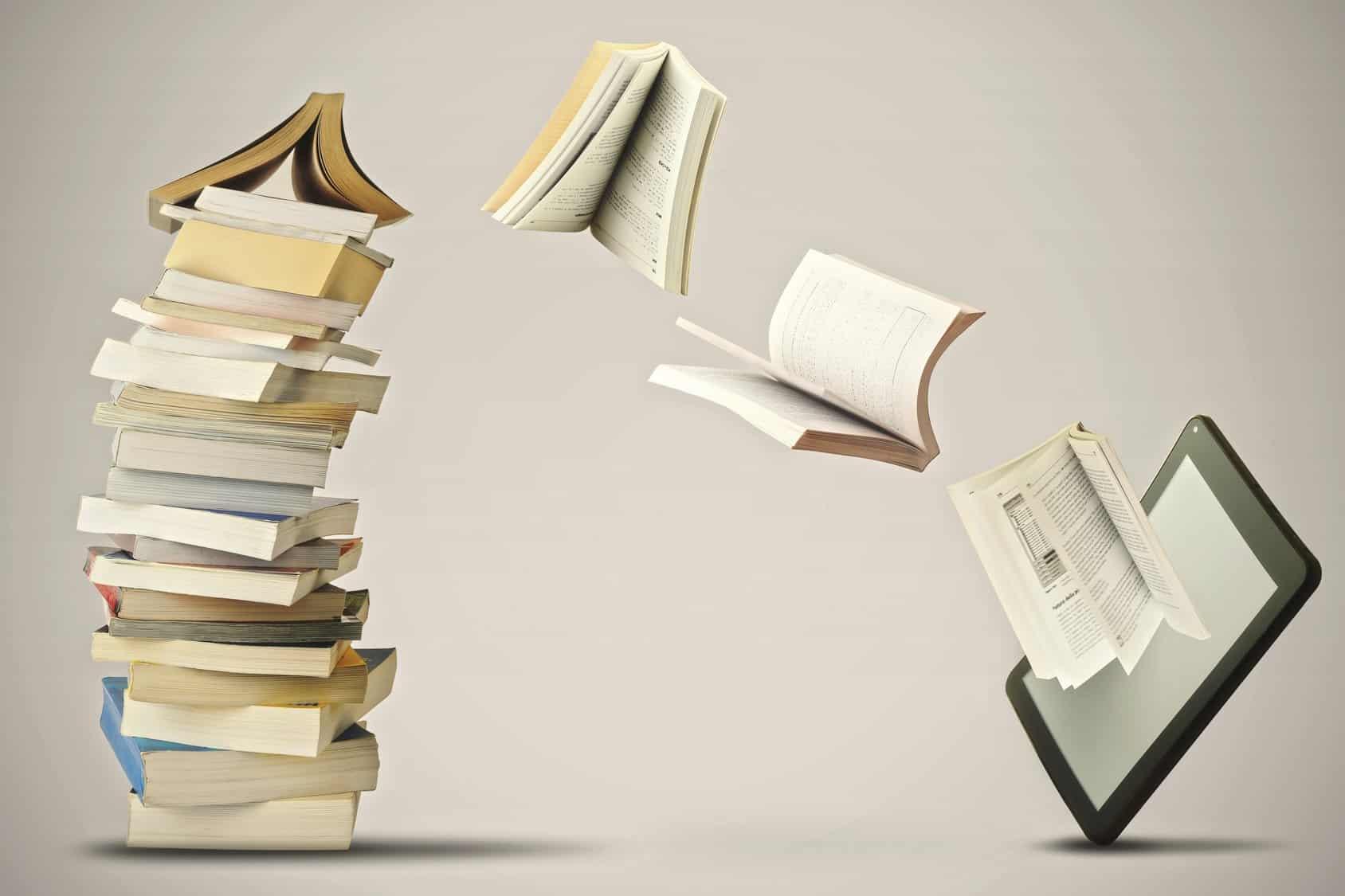 Printausgaben und E-Book-Reader
